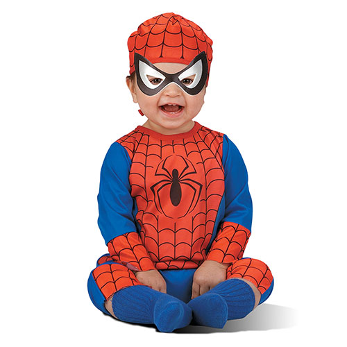 spiderman infant halloween costume size months