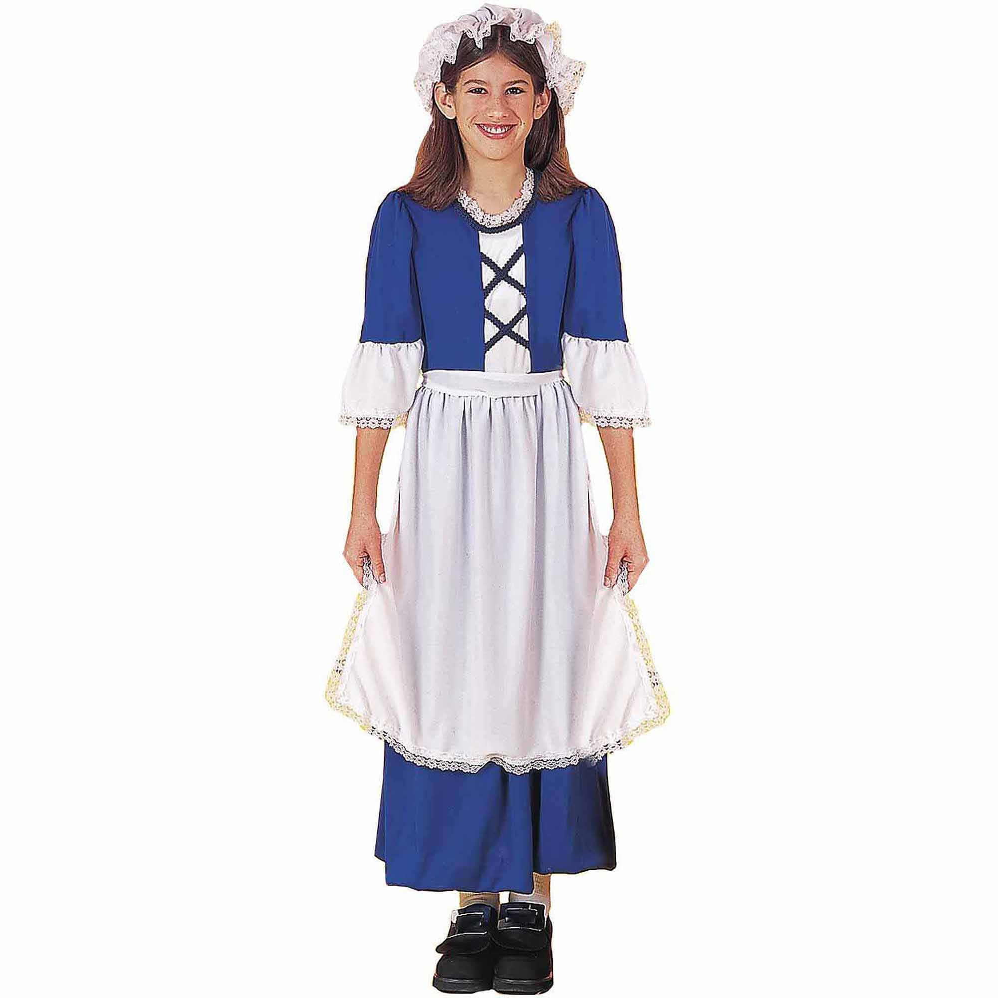sc 1 st  Walmart & Little Colonial Miss Child Halloween Costume - Walmart.com