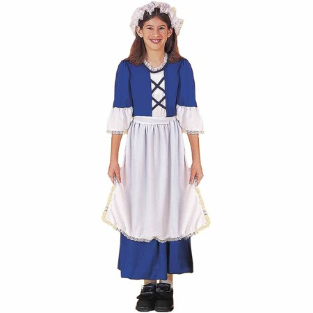 Little Colonial Miss Child Halloween Costume (Colonial Costume Kids)