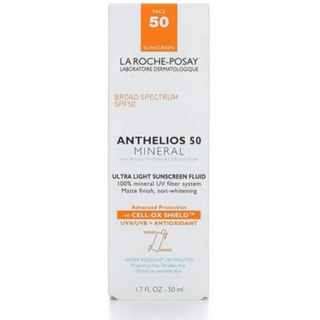 La Roche-Posay Anthelios 50 Mineral Ultra Light Sunscreen Fluid, SPF 50 1.7 oz