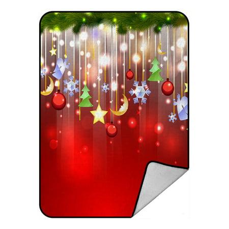 Christmas Fleece.Gckg Merry Christmas Time Xmas Fantastic Christmas Fleece Blanket Crystal Velvet Front And Lambswool Sherpa Fleece Back Throw Blanket 58x80inches