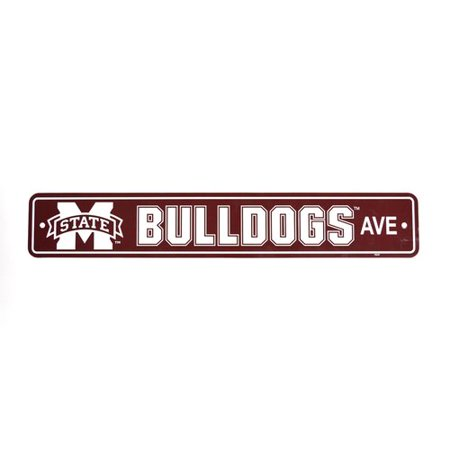 Ncaa Mississippi State Bulldogs Street Sign