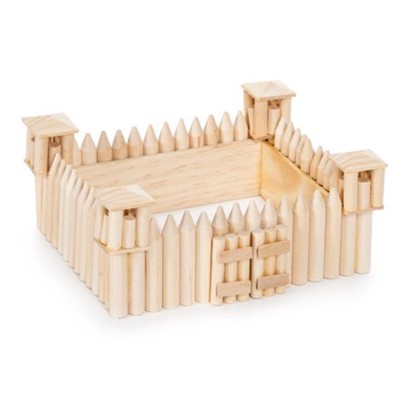 Wood Model Kit - Fort - 5-3/8 x 2-3/8 inches](Wood Building Kits For Kids)
