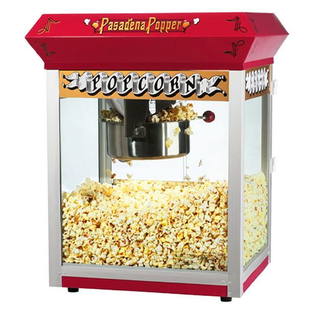 Great Northern Pasadena Red Antique Style Popcorn Popper Machine