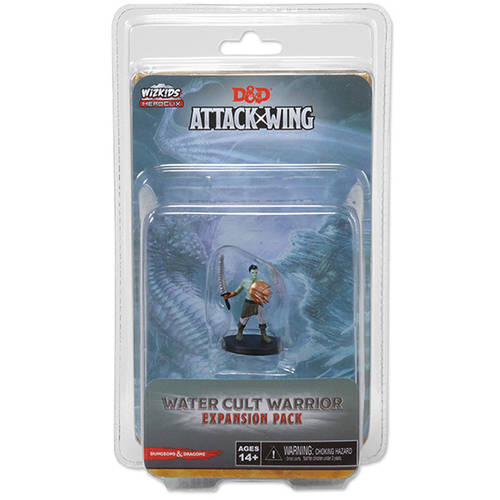 Dungeons & Dragons Attack Wing: Wave 6, Water Cult Warrior Expansion Pack