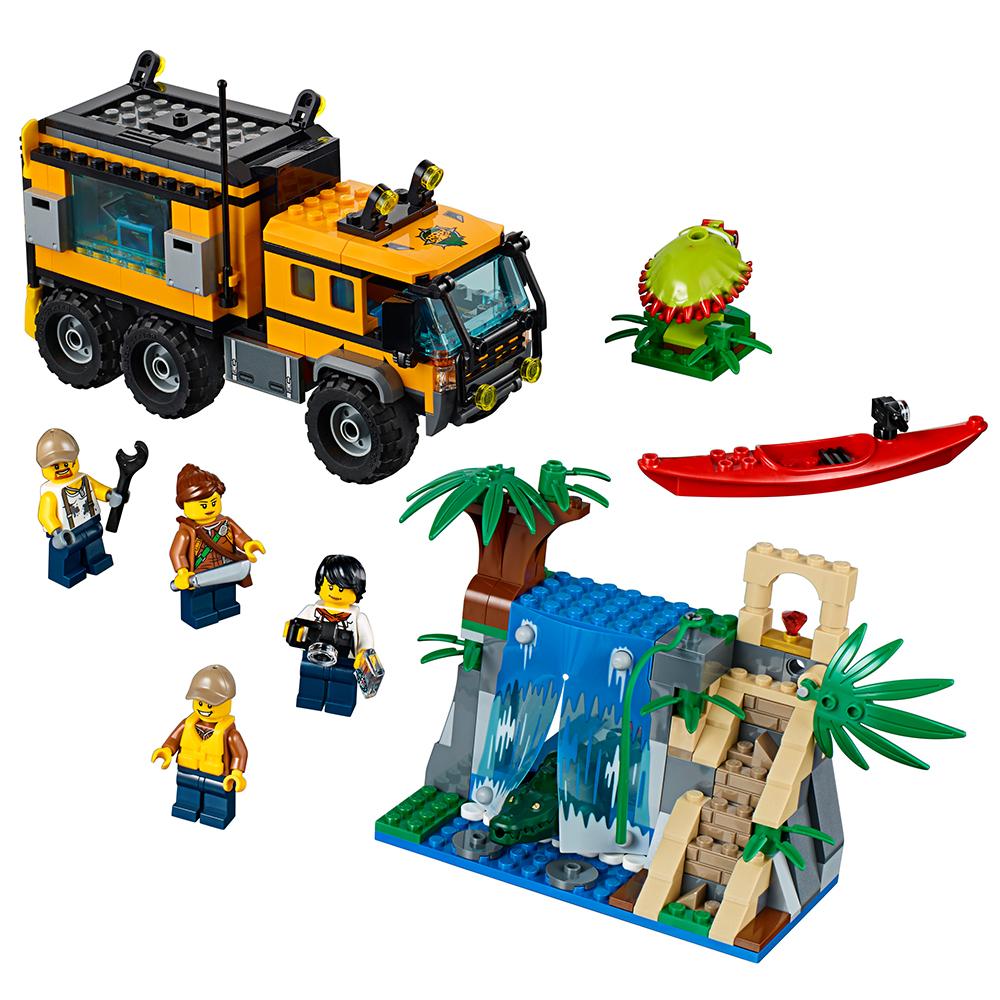 LEGO City Jungle Explorers Jungle Mobile Lab 60160 – Walmart ...