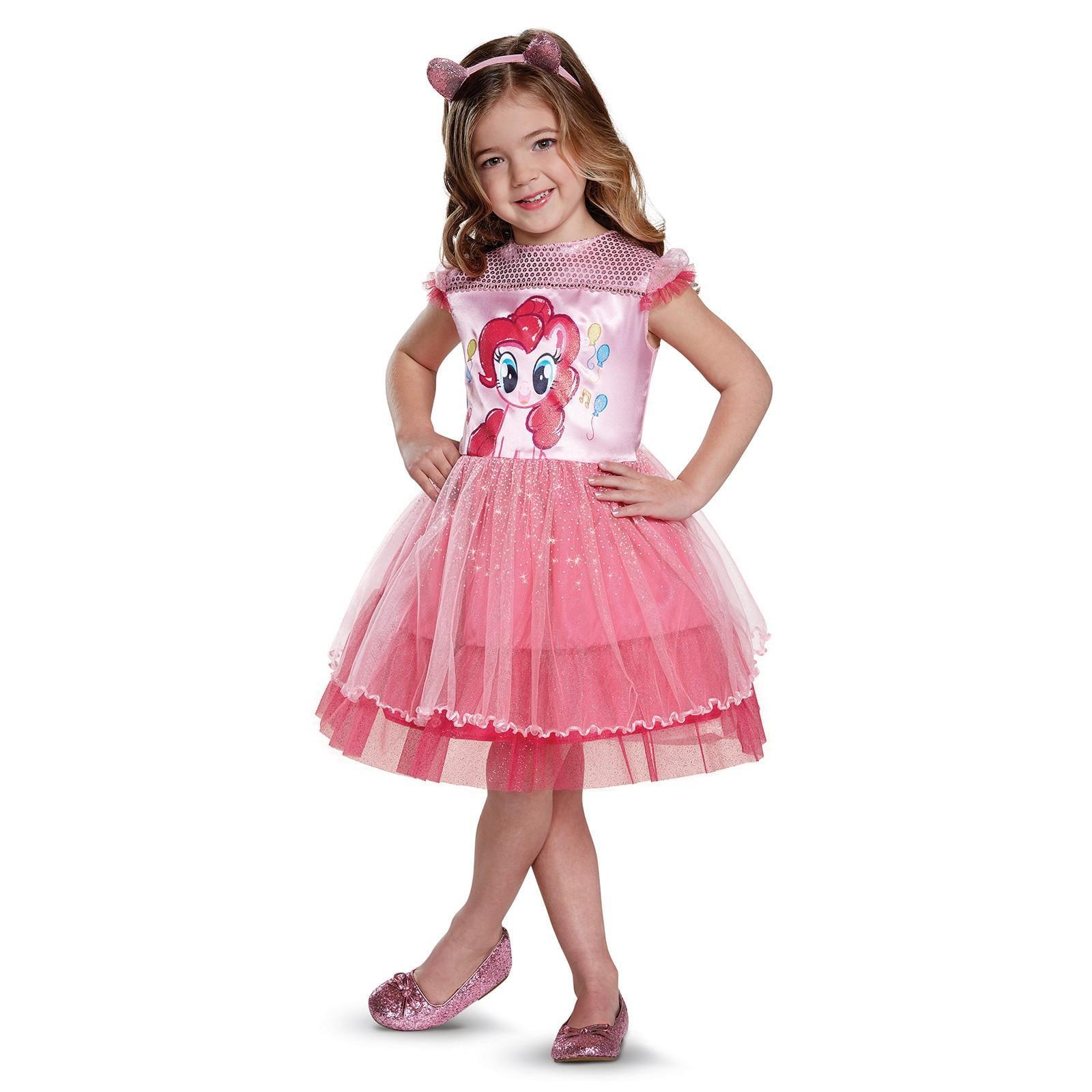 2T My Little Pony Twilight Sparkle Toddler Girls Costume Ruffle Dress Lilac