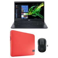 "15.6"" Laptop Holiday Value Bundle with Choice of Laptop Case & Wireless Mouse"