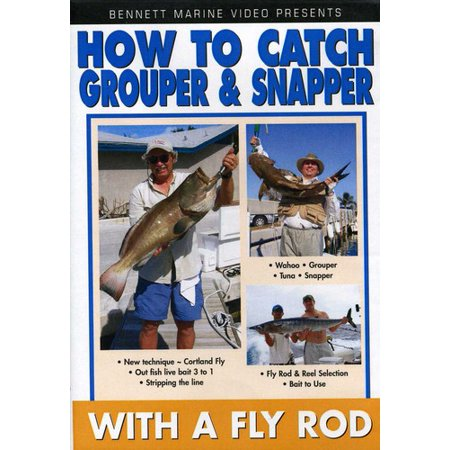 Captain Frank: How to Grouper and Snapper on a Fly Rod (DVD) thumbnail