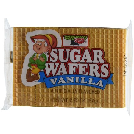 Keebler Sugar Wafer Vanilla, 2.75-Ounce Packages (Pack of