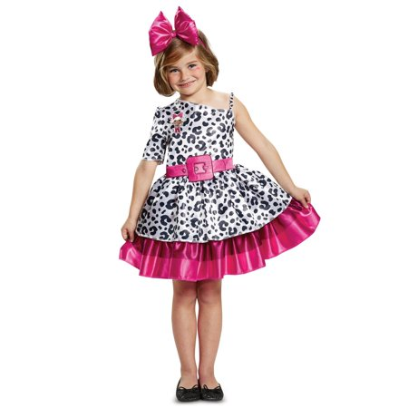 Classic L.O.L Diva Girls Halloween - Girls Zebra Costume