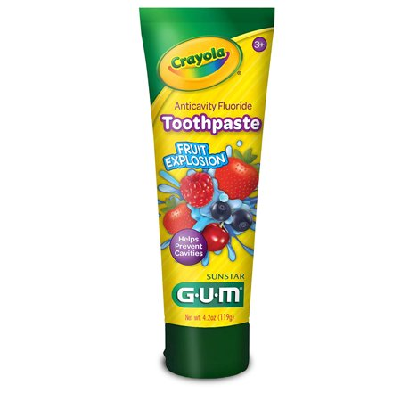 GUM Crayola Anticavity Kids' Toothpaste - 4.2oz