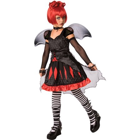 Rubies Batty Princess Costume Gothic Bat Dress with Wings - Gothic Princess Costume