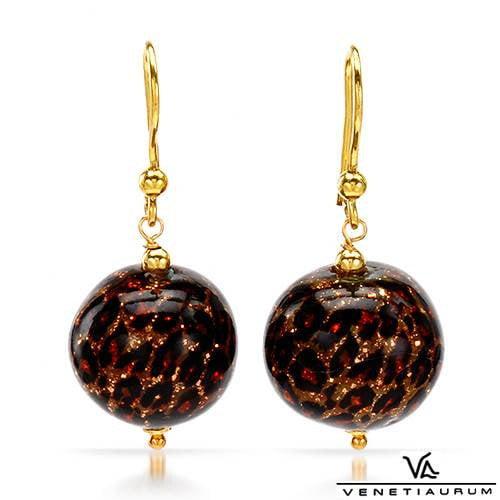 Vivid Gemz Venetiaurum Round Cut Drop Earring