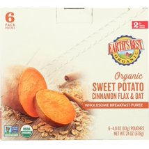 Baby Food: Earth's Best Organic Pouches