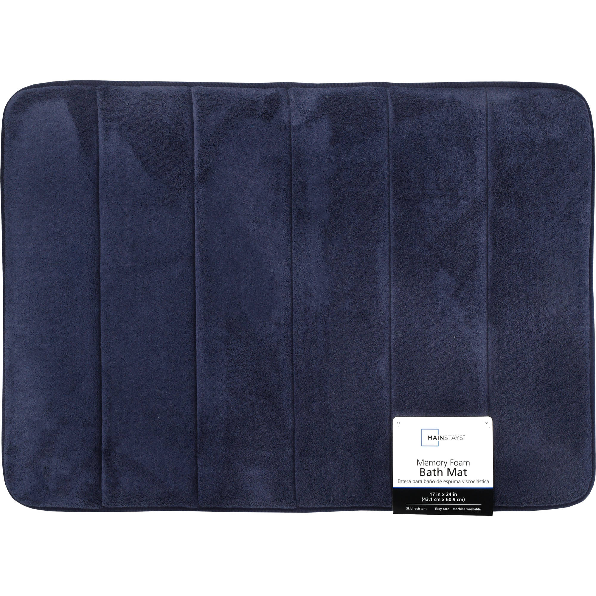 Mainstays Memory Foam Bath Rug