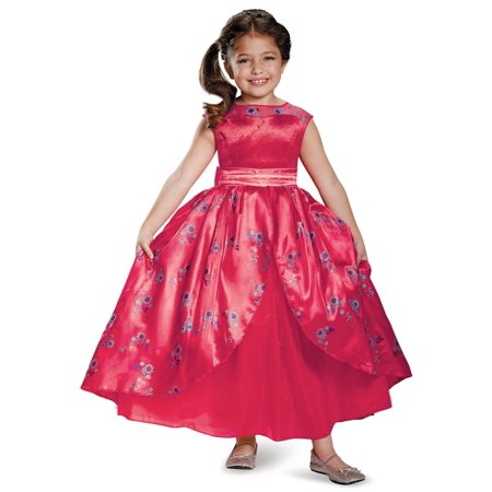 Disney's Elena of Avalor Ball Gown Deluxe Costume for Kids