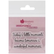 """Woodware Clear Stamps 2.5""""X1.75""""-Little Moments"""