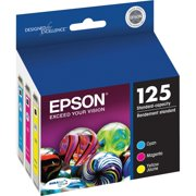 Epson 125 Standard-capacity Color Multi-Pack Ink Cartridges