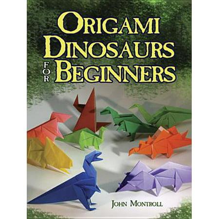 Origami Dinosaurs for Beginners (Paperback) (Lotus Origami)