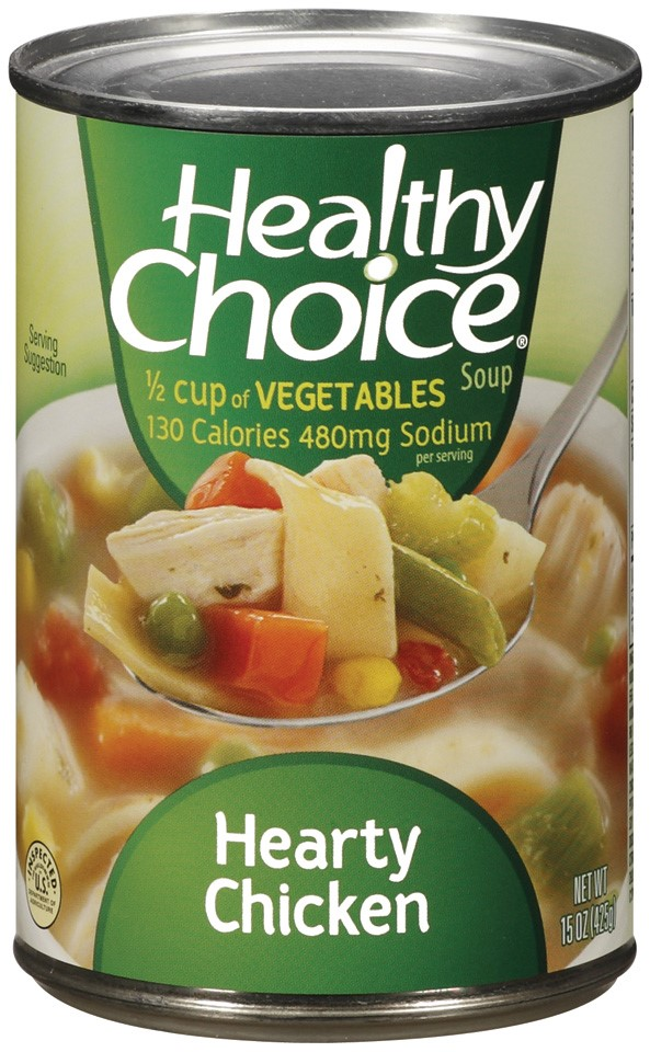 Healthy Choice Hearty Chicken Soup, 15 Oz by Conagra Foods