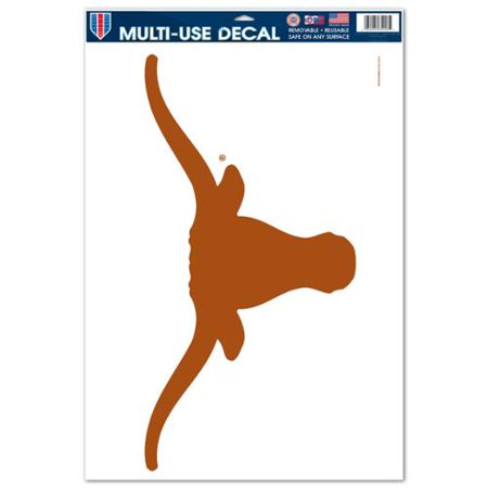 Wincraft Texas Rangers Decal (Texas Longhorns Official NCAA 11 inch x 17 inch  Car Window Cling Decal by)