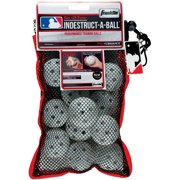 "Franklin Sports MLB 5"" Indestruct-A-Balls Micro Baseball, White by Franklin Sports"
