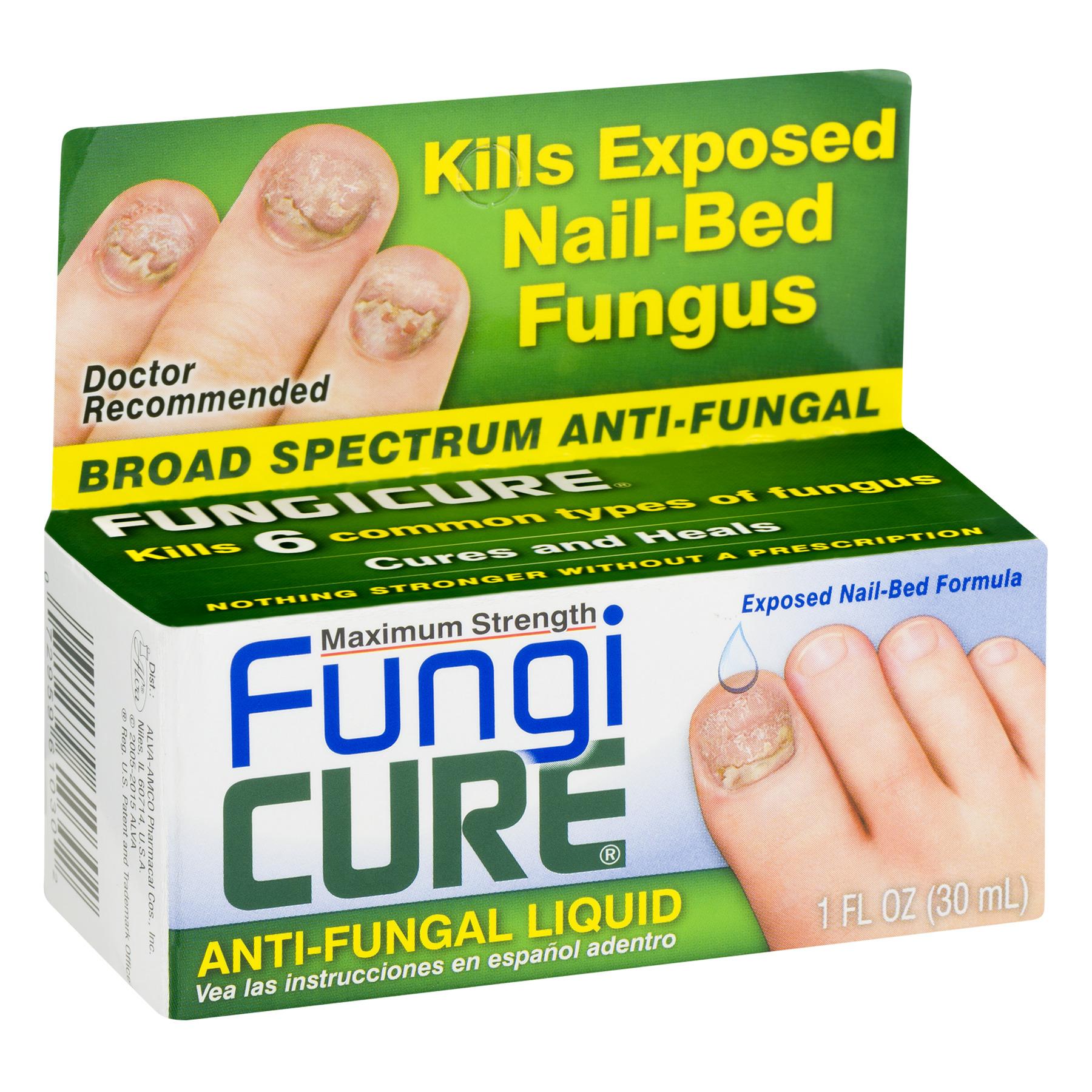 Fungicure Maximum Strength Broad Spectrum Anti-Fungal Liquid, 1 Fl ...
