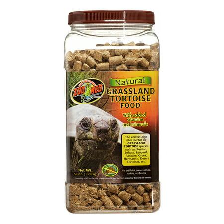Zoo Med Natural Grassland Tortoise Food, 60 Oz