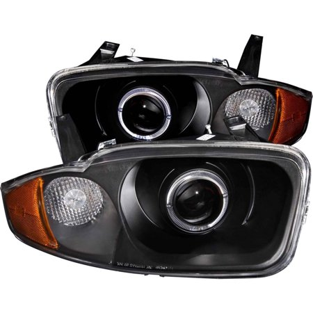 ANZO 2003-2005 Chevrolet Cavalier Projector Headlights w/ Halo (Cavalier Projector Headlights)