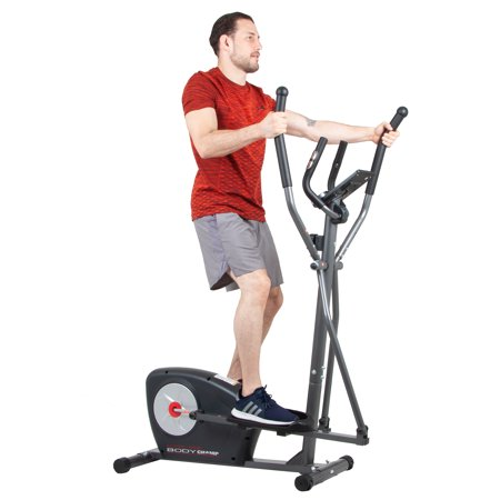 Body Champ Magnetic Elliptical with Manual Resistance