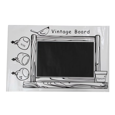 Sodial Pvc Framed Blackboard Removable Wall Sticker Chalk Board Chalkboard Decal
