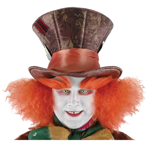 Disney Madhatter Adult Halloween Hat with Hair Accessory