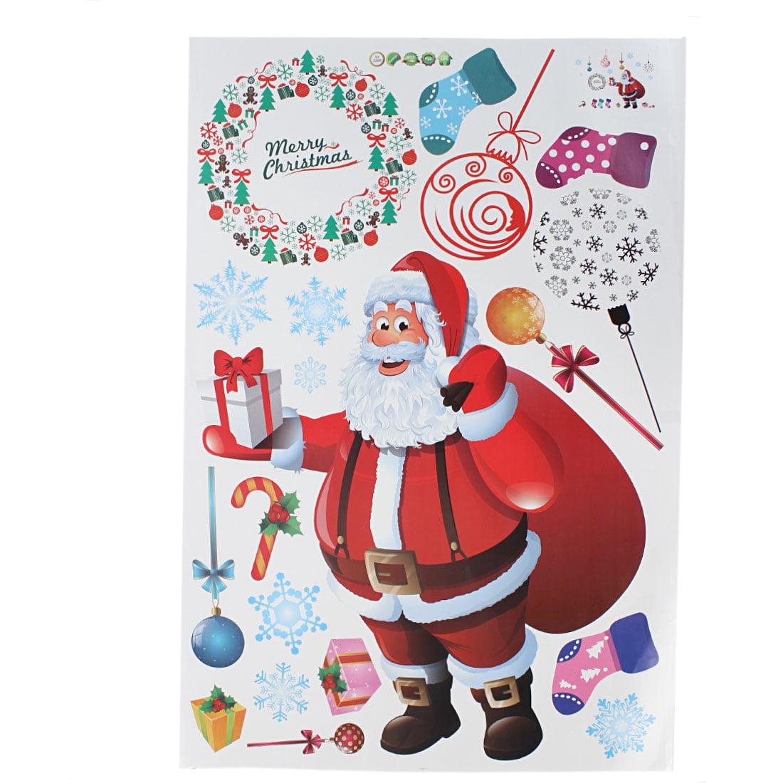 Maison Shop Santa Noël Décoration Papier peint mural amovible