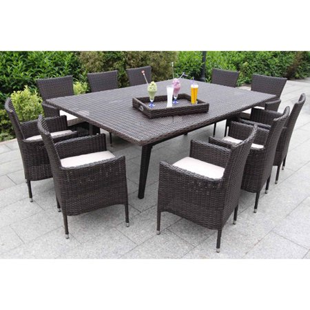 Bellini Wicker Dining Beaver Tan