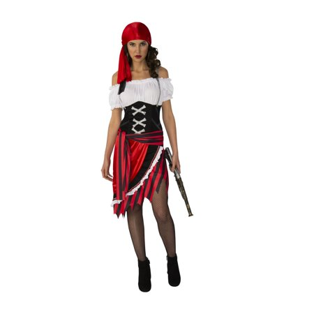 Womens Sexy Pirate Vixen Costume (Woman Pirate Costumes)