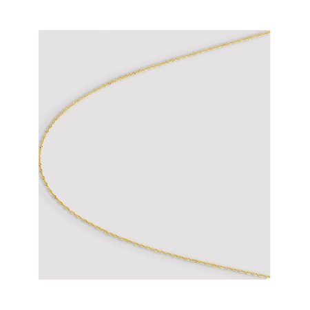 10k Yellow Gold 1.10mm Singapore Chain - image 3 of 5