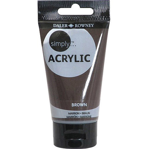 Simply Acrylic 75ml Paint Tube, 6-pack