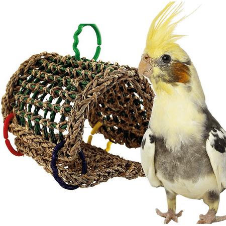 Bird Tent - Bonka Bird Toys 00881 Seagrass Tent