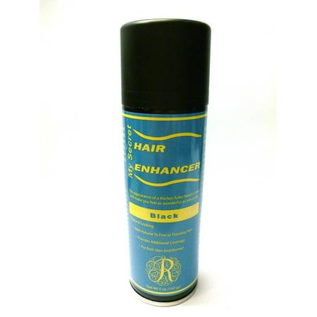 My Secret Hair Enhancer Spray, BLACK 5oz