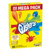 Fruit Snacks Gushers Mega Pack Variety Pack 20 Pouches 0.9 oz Each