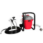 Costway 3000PSI 5/8 HP High Pressure Airless Paint Sprayer Wall Painter Spraying Gun Red