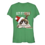 Grumpy Cat Juniors' Let it No T-Shirt