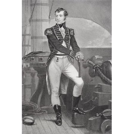 Posterazzi DPI1838851 Stephen Decatur 1779-1820 American Naval Officer In War of 1812 Gave Toast At Poster Print, 12 x 17 - image 1 de 1