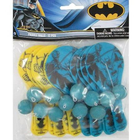 - Mini Paddle Balls (12ct), By Batman Ship from US