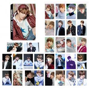Fancyleo BTS Album LOMO Cards New Fashion Self Made Paper Photo Card HD 30PCS/Set Gift for ARMY](Halloween Photo Cards Walmart)