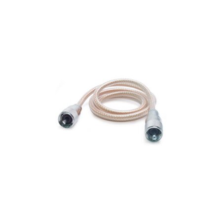 ROADPRO RP-8X9CL 9 CB ANTENNA MINI-8 COAX CABLE WITH PL-259 CONNECTORS CLEAR