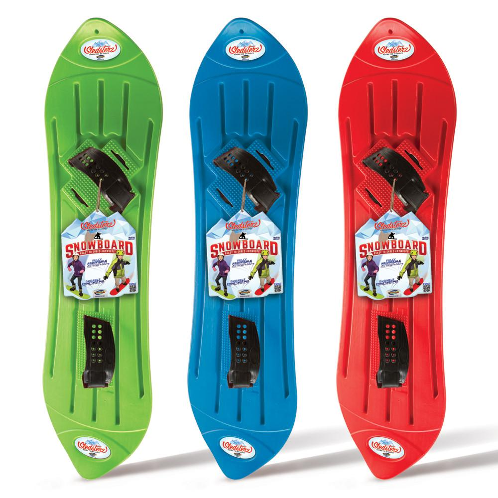 Sledsterz Geospace Snowboard, Assorted Colors…