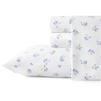 Stone Cottage Sketchy Ditsy Blue Queen Sheet Set