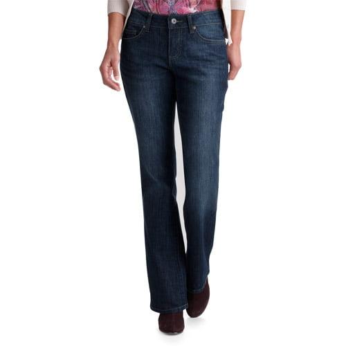 Faded Glory Women's Basic Bootcut Jeans, Petite